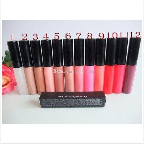 영어 이름 3.0G 뉴 레트로 매트 매트 립스틱 입술 색 15 색, 프로 MC 누드 립 글로스 뷰티 메이크업