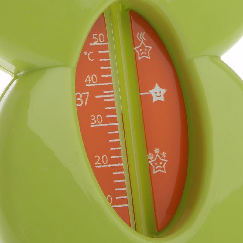 1pc Thermomètre eau mignon bébé GRENOUiLLE avec échelle Baignoire Bain eau potable Thermomètre Testeur pour bébé Soins enfants