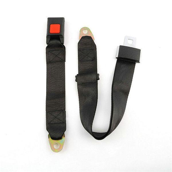 3C المصادقة العالمي 2 نقاط الترباس مقعد السيارة حزام حزام حزام نقطتين السلامة قابل للتعديل أحزمة الأمان أفضل جودة