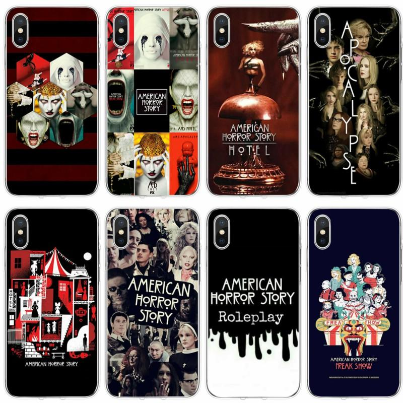 TV American Horror Story Cover Soft Silicone Phone Case For IPhone ...