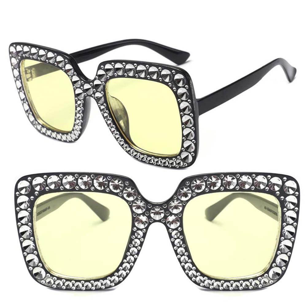 La plaza del diamante artificial Senderismo Gafas Hombres Mujeres Holiday Beach Marca de los vidrios del diseñador del vintage lentes de los vidrios Gafas de conducción