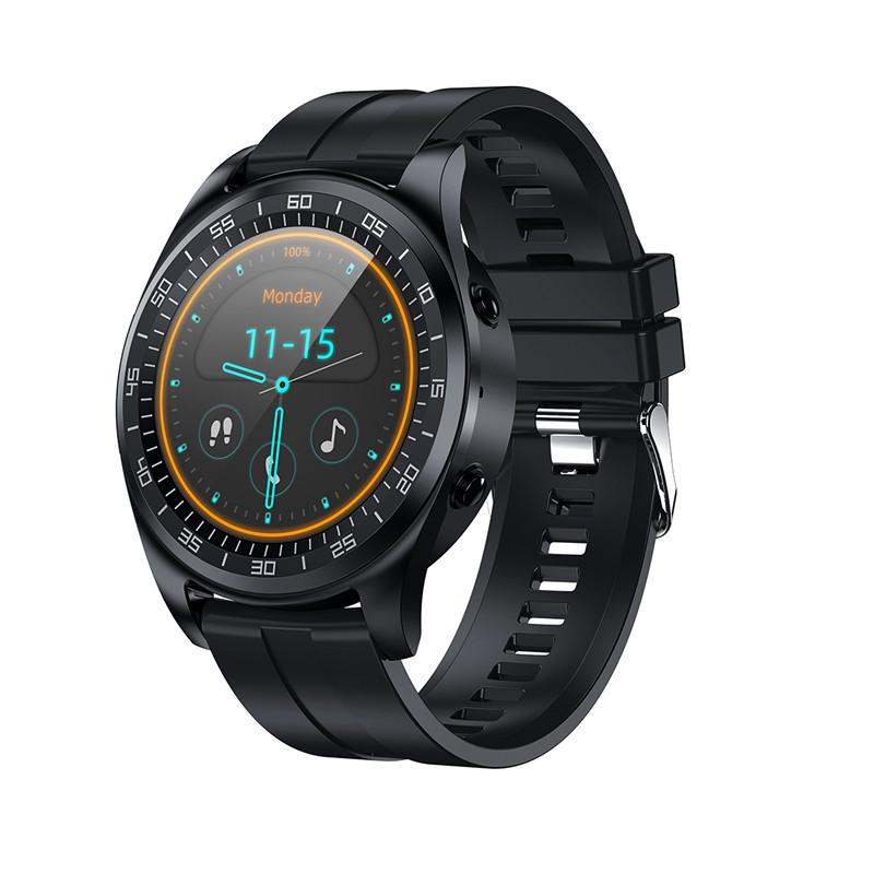 Best Sport Smart Watch Runde Smart Armband Fitness Tracker Herzfrequenzuhr Band Smart Armband Für Apple Android Cellphones PK ID115 Plus