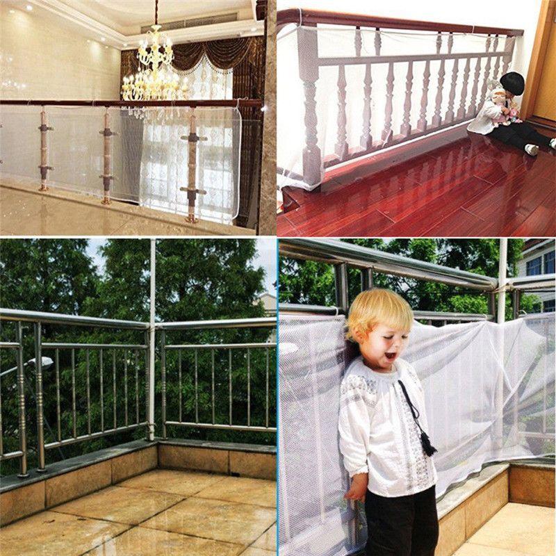 كبير الحجم السلامة 1 Railnet Net حماية الطفل الاطفال الرضع درج شرفة الطابق بوابة المداخل شبكة 200x75cm أو 300X75cm