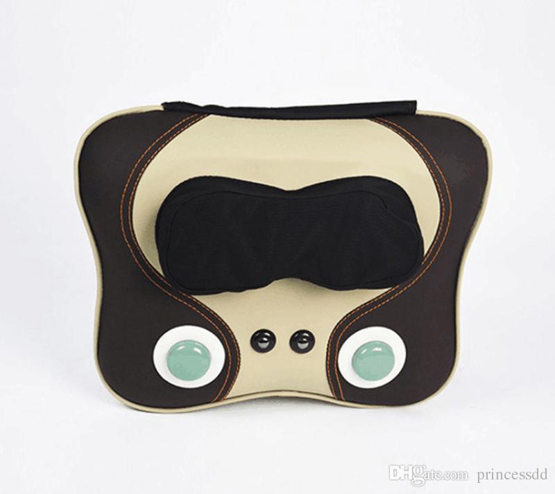 Cintura 3D E Massagem Nos Ombros Ppillow Casa Almofada De Massagem Multi Funcional Dispositivo de Massagem Cervical Percussão