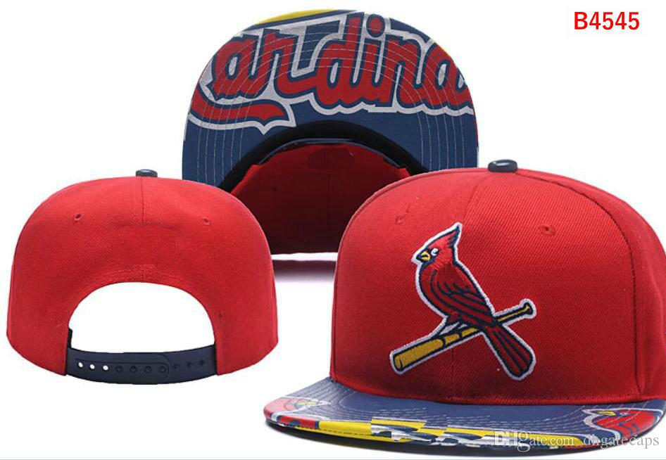 Chapeaux New Cardinals Hot Logo LS Casquette Femme Strapback Toutes les équipes Chapeau Baseball Brodé Snapback Sports Chapeu Drop Shipping 03