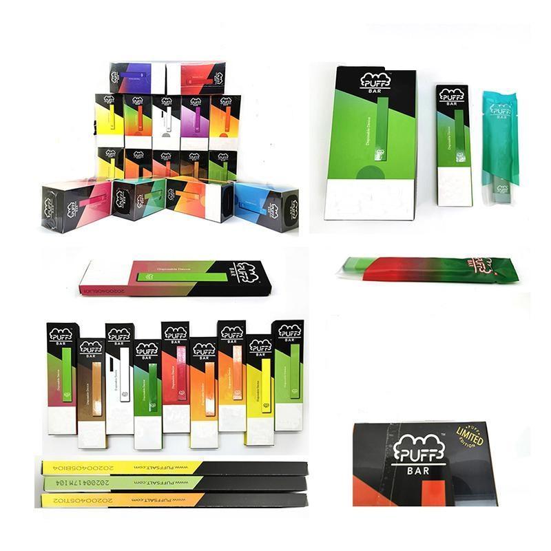 Слоеное Bar Одноразовые устройства опорожнить Pod Starter Kit 280mAh Батарея Vape Pen