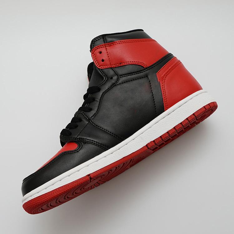 2020 Los zapatos del diseñador VS 1 OG calzado casual para hombre de Chicago 1S 6 MID zapatillas de deporte zapatillas de deporte del dedo del pie zapatos Bred Formadores Amor UNC Deporte tamaño 36-47