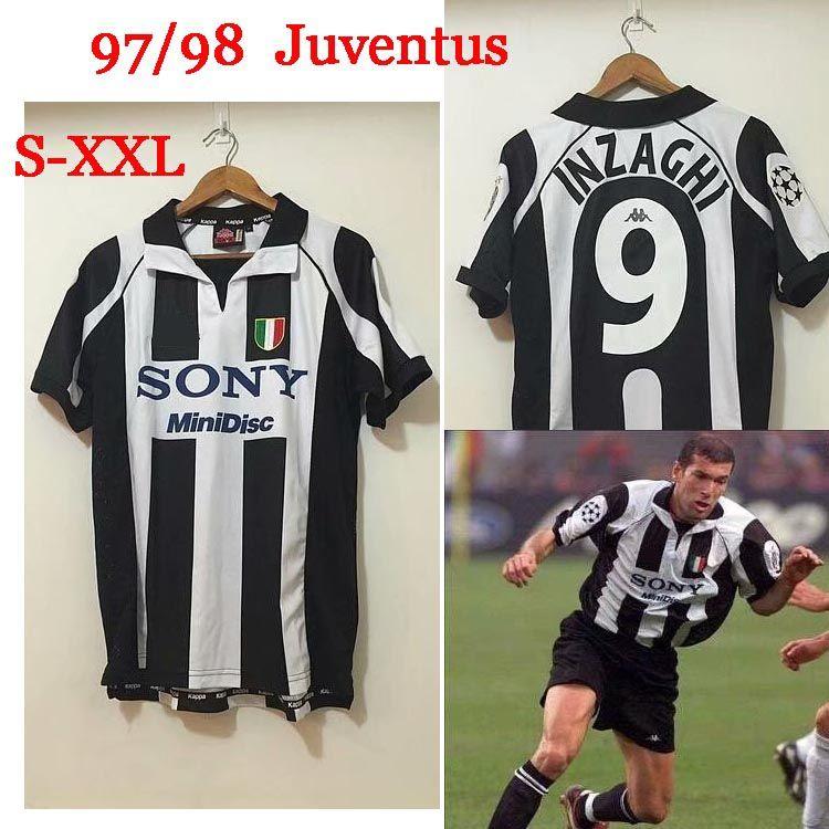 huge discount 16ab8 fa77a 2019 Retro 1997/98 Juventus Retro Centenary Alessandro Del Piero 10 Match  Issue Home Soccer Jersey Football Shirt Trikot Maglia Camiseta De Fútbo  From ...