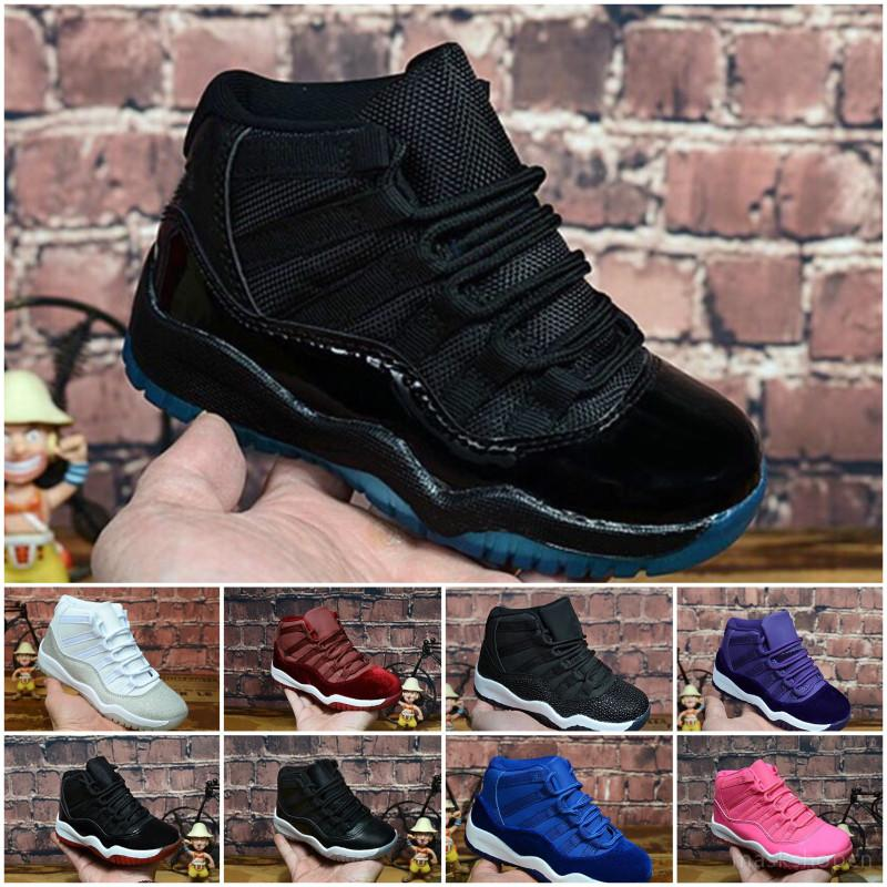 Nike Air Jordan 11 a buon mercato Womens 11 Jumpman XI scarpe da basket bassa 11s Olimpico Bred turchese rosa pelle di serpente Georgetown Velvet J11 scarpe da ginnastica per