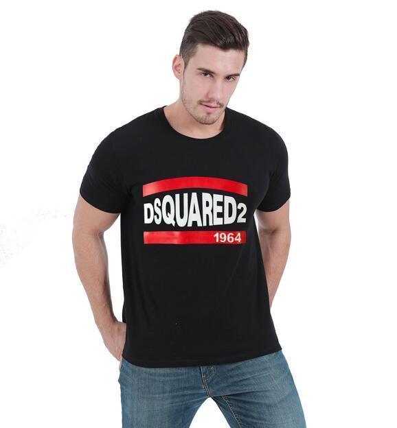 neuf de haute qualité D2 Mens chemise d'impression T-shirts à manches courtes T M-3XLdsquared2 t shirt homme 0034b1d n