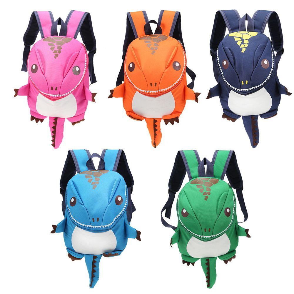 어린이 상어 디자인 공룡 배낭 소년 아이 배낭 유치원 작은 학교 가방 여자 동물 학교 가방 팩 여행 장난감