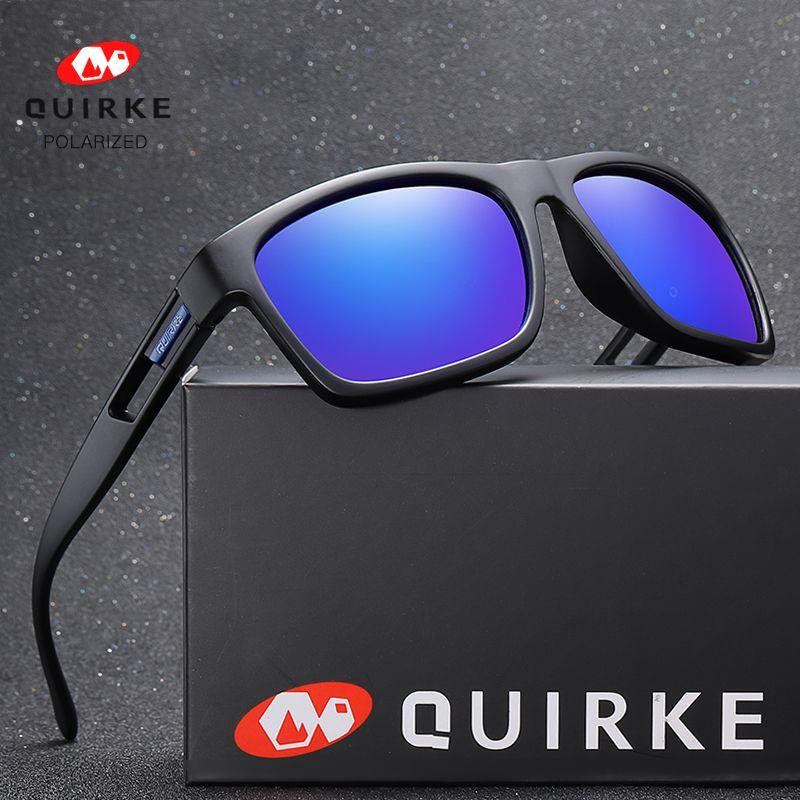Occhiali da sole uomo occhiali da sole occhiali da sole polarzied notte all'aperto e uomini riflettente sport sole occhiali da sole donne quirke visione ciclistica fabbrica all'ingrosso nvknr