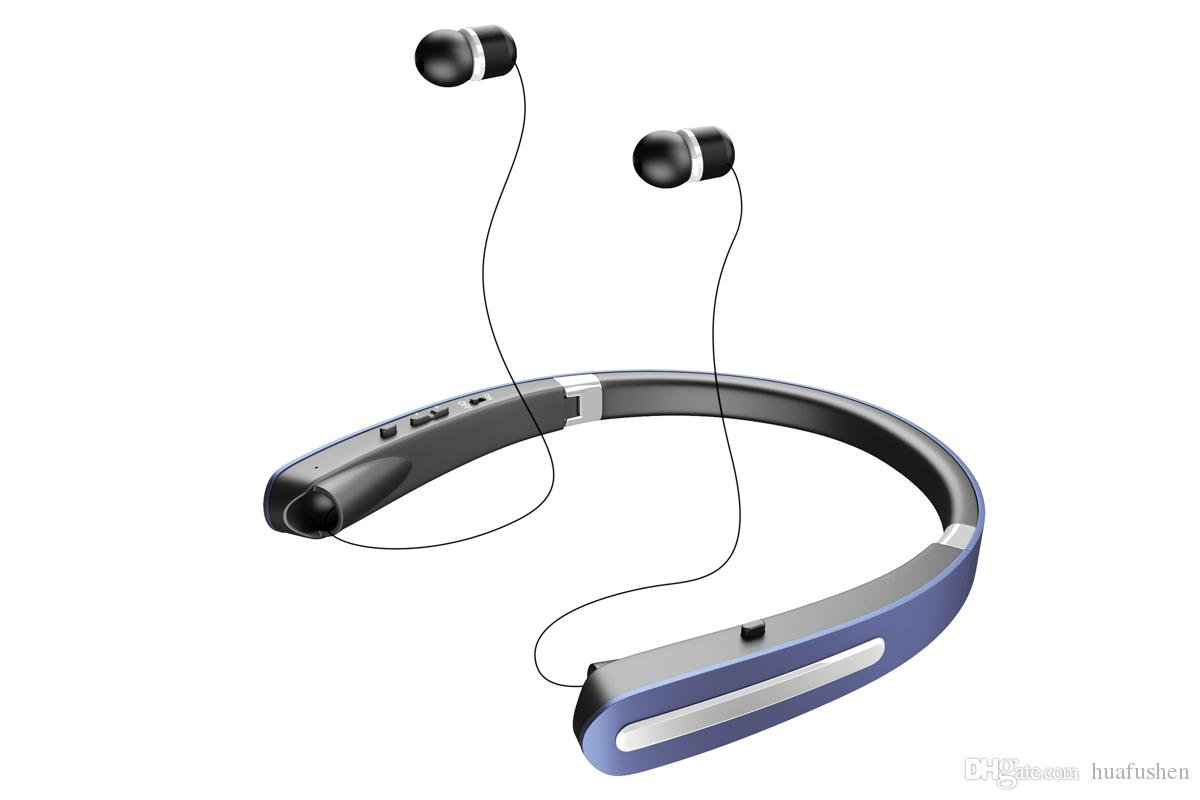 New Bluetooth Headphones 2018 New Arrival Bluetooth Headphones The Portable Folding Headphones The Headphone Cable Can Retractable Design.