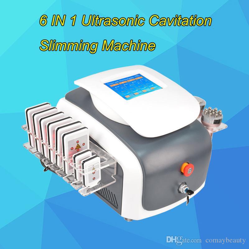 체중 감량 진공 RF 기계 울트라 캐비테이션 가정 사용을위한 공동 현상 아름다움 장비 초음파 캐비테이션 기계 가격