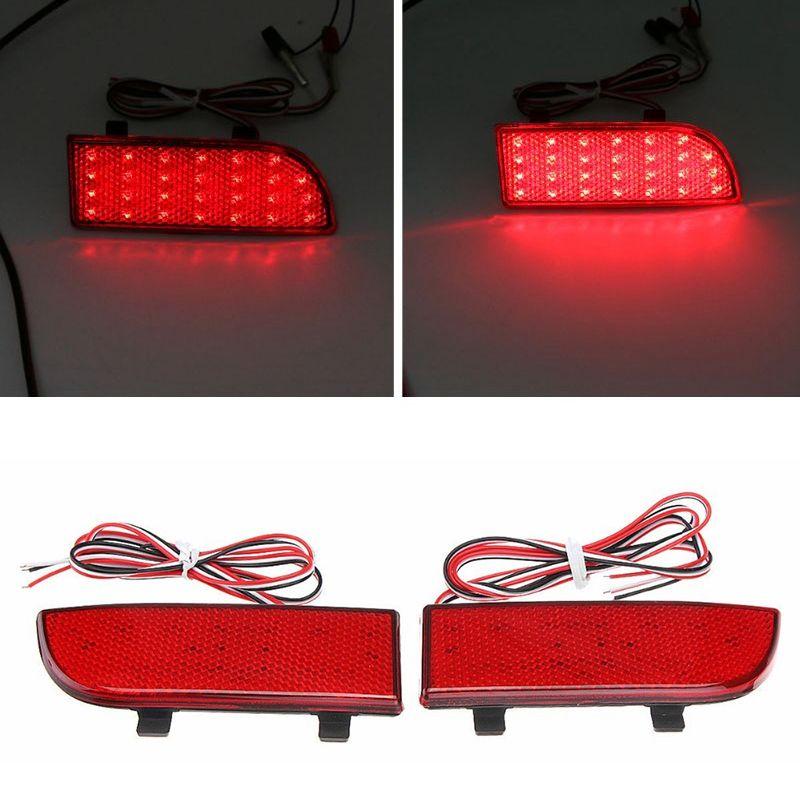 Car Rear Bumper LED Tail Light Brake Light Reflector for Sprinter W906 2006 -2020 Vito Viano W639 2003-2014