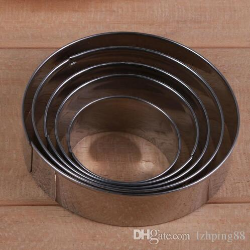 Cookie Cutter Cake Cutter Stainless Steel Round Cake Mold Star Biscuit Mould Fondant Cutting Pastry Cutter Dropshipping