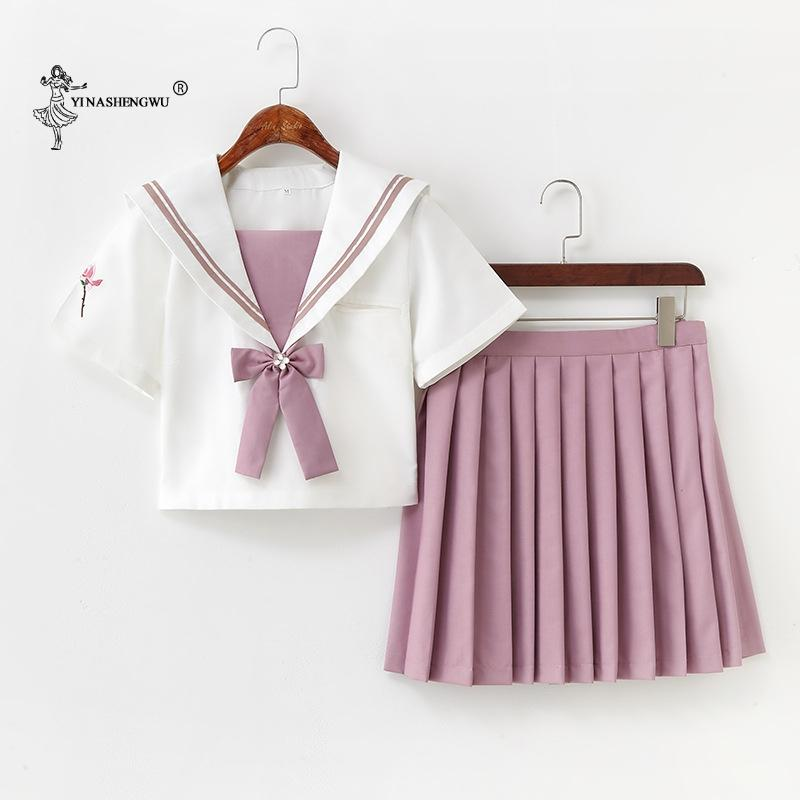 Japanese Sailor Cosplay Uniforms Sets Jk College Clothes Suits Middle School Uniform Girls Japan Style Student Costume