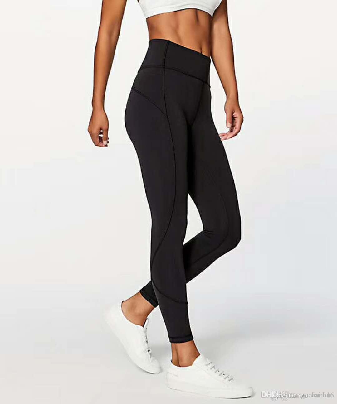 Fitness Wear Mädchen Marke Laufen Gamaschen Sporthose Frauen Yoga Outfits Damen Sport Voll Leggings Damen Hosen Übung