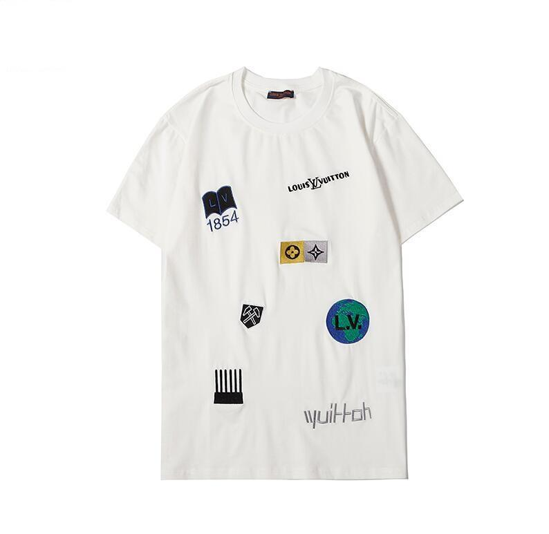 Camiseta para hombre de las mujeres para la niña Brandshirts lujo Designertshirt de Verano Primeros Impreso camiseta envío Tees Ropa de Señora 45Q82