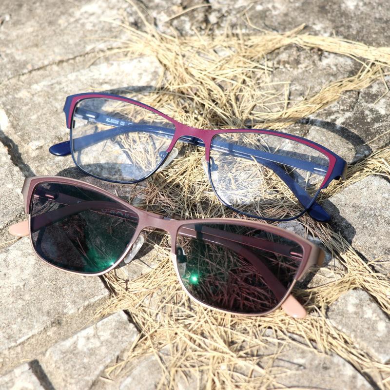 Nuovo occhiali da lettura cambia colore Outdoor Radiazione-prova Occhiali da sole, ad alta definizione da sole UV Dual-use gatto occhiali da lettura