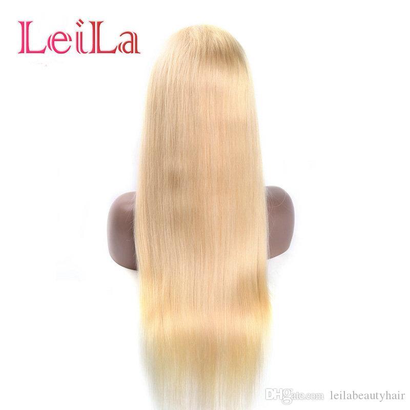 150 % 밀도 페루 613 금발 전체 레이스 가발 인간의 머리 레이스 앞 가발 사전 꼬집어 1b / 613 브라질 처녀 가발