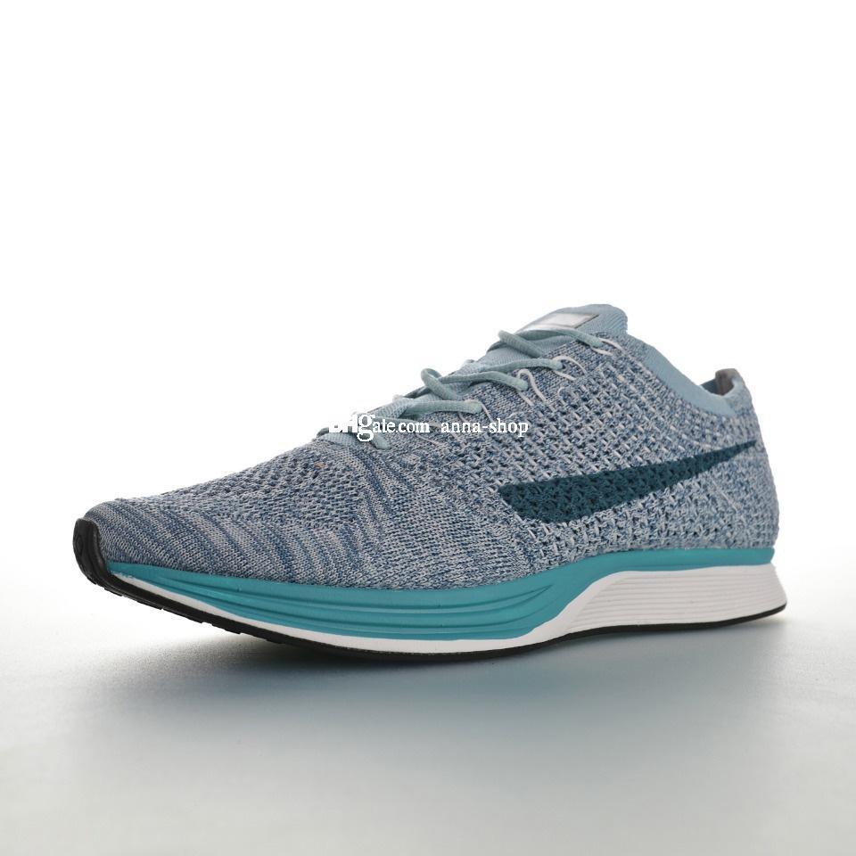 Fly Knit Racer 2.0 Legione blu scarpe da corsa per uomo Scarpe da ginnastica di addestramento Chaussures scarpe da tennis delle donne della Mens Trainers donne atletiche