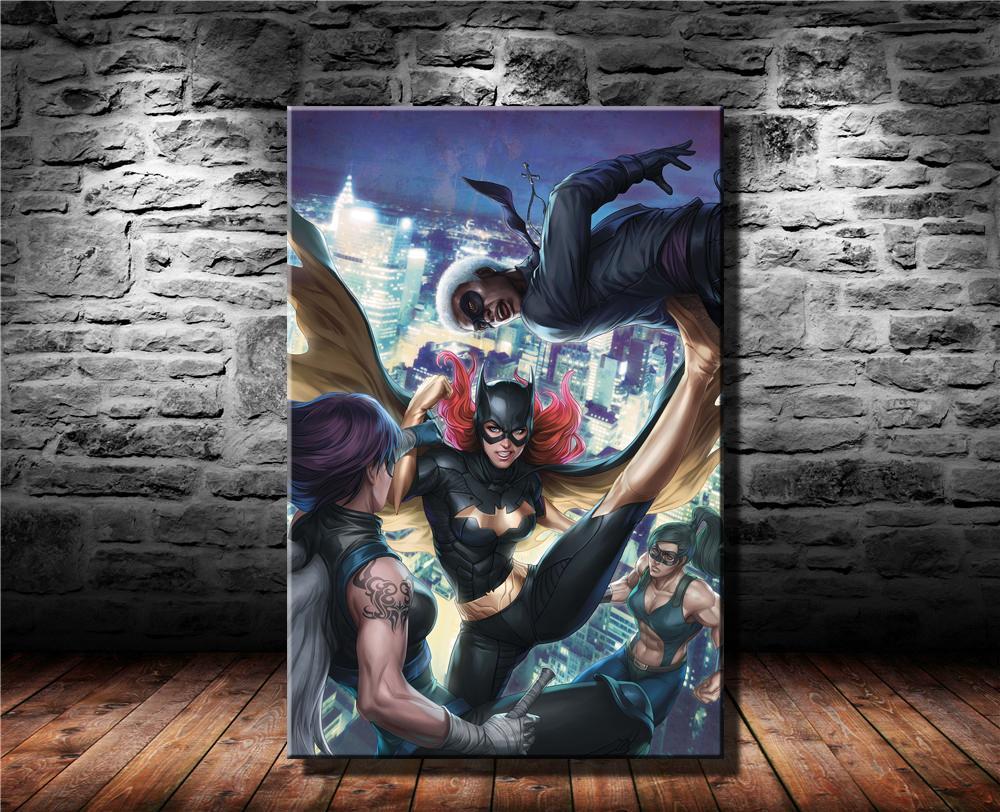 Batgirl New 52 Volume 2, Impresión en lienzo HD Nueva decoración del hogar Arte Pintura / (Sin marco / Enmarcado)