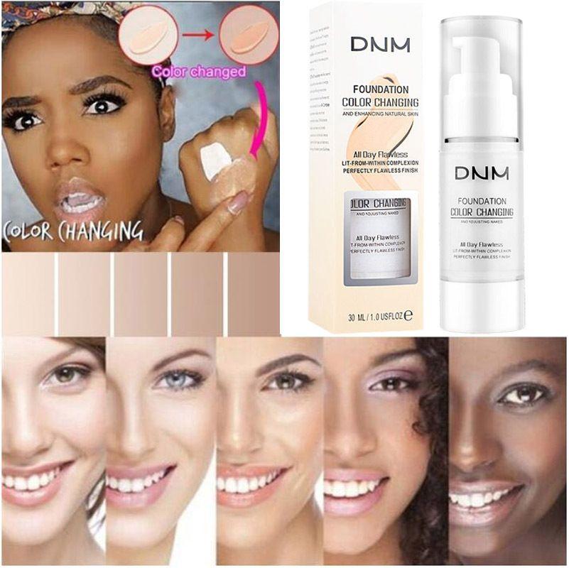 العلامة التجارية الاحترار الأساس السائل المحمولة اللون الطبيعي العاج الأبيض اشراق تمييز ماكياج الوجه المخفي 30ML 2 الألوان