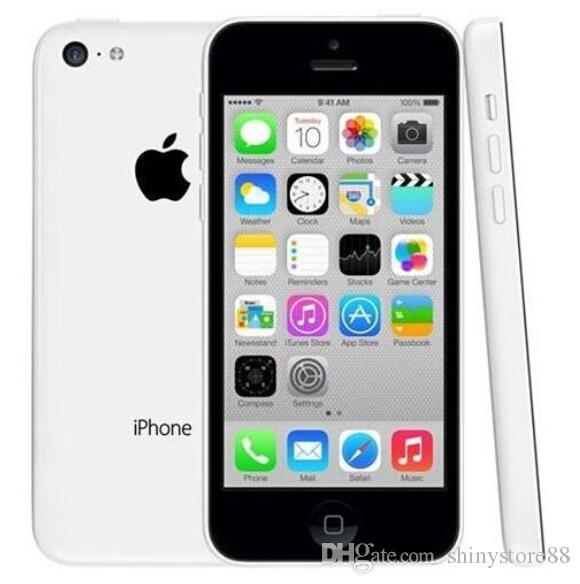 """Original iPhone 5C 8GB/16GB/32GB Dual Core 8MP Camera 4.0"""" Ios 10 Unlocked Phones"""