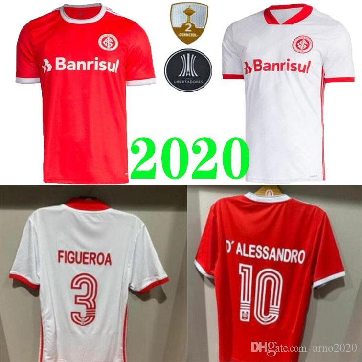 2020 2021 SC Internacional maglie calcio Casa lontano 20 21 camisetas Bruno Silva N.LOPEZ GUERRERO Football Kit camicie POTTKER