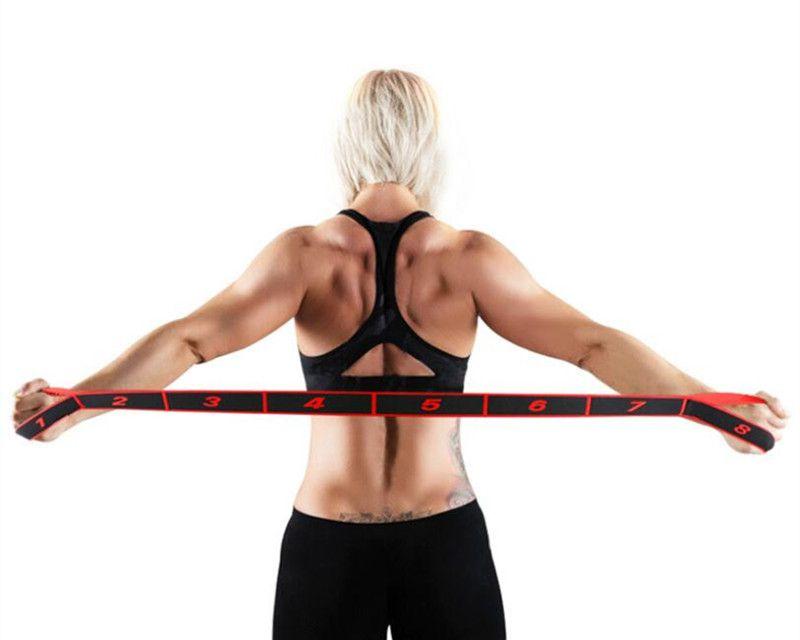 New Professional Gymnastics Adult Girl Latin Training Bands Pilates Yoga Stretch