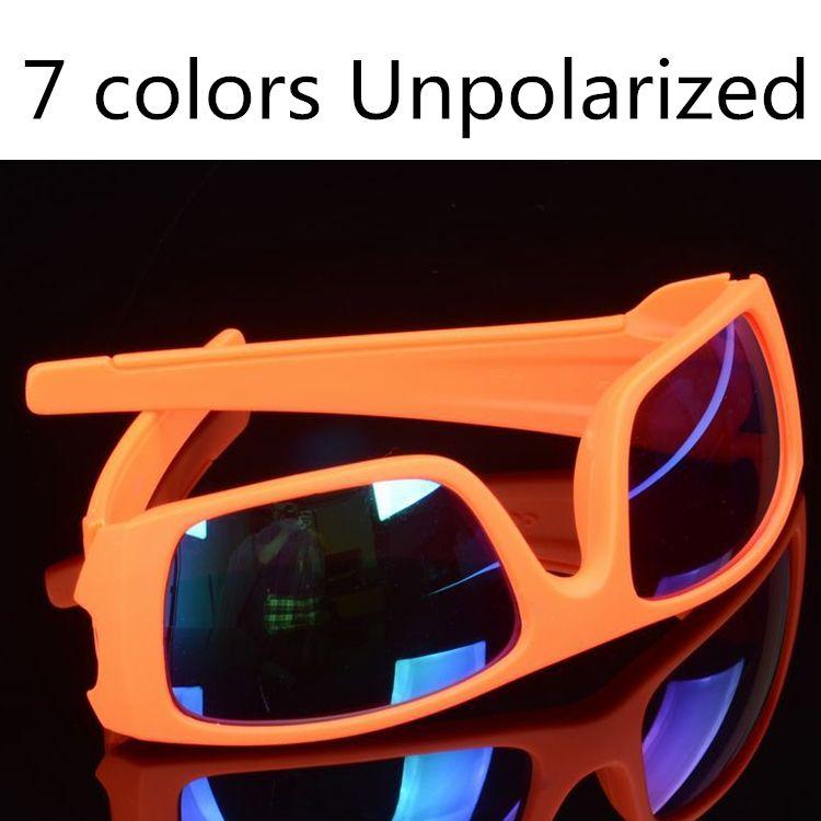 Summer Brand Designer Sunglasses 7 Colors Men Classic Bicycle Sports Sunglasses Dazzle Colour Glasses 5962 Sunglasses