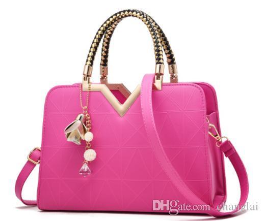 2019 mulheres pacote cruz única bolsa de ombro novo estilo de moda Handbag # 777720