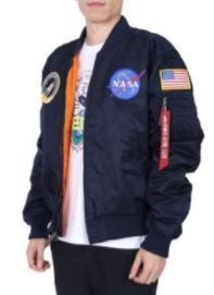 Мужские НАСА Мужские MA1 Bomber Jacket USAF Kanye West Хип-хоп Спорт Мужской Ветровка Флаг Весна Тонкий Мужские конструктор Leather7d79 #