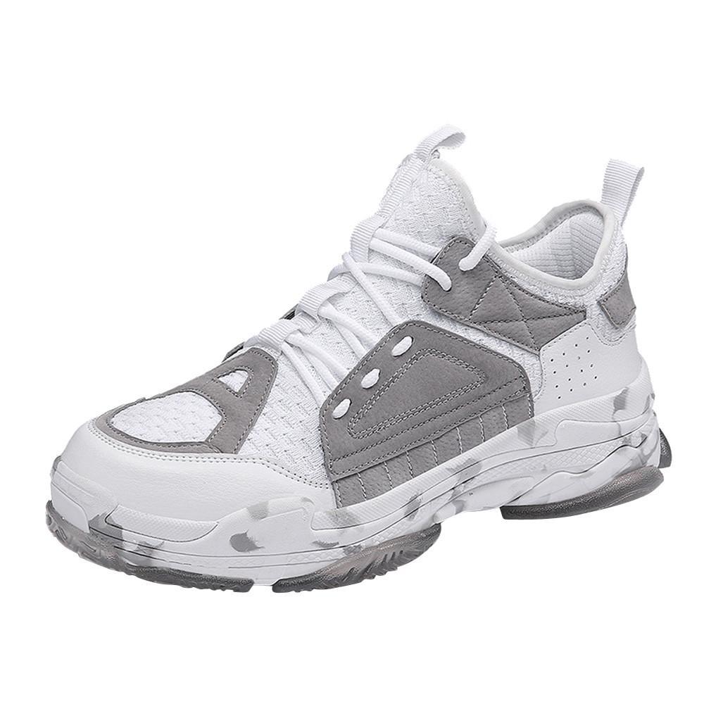 SAGACE Hommes Chaussures de sport d'été Formateurs Renforce Mode Chaussures Casual Tendance Homme Fly Weave respirant avec Légèreté Chaussures de sport 2020