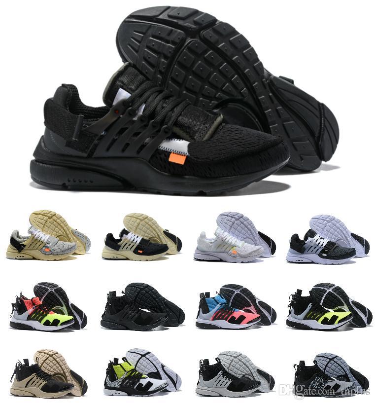 Designer 2019 New Presto V2 Ultra BR TP QS Black White X Sports Casual Shoes Cheap Air Cushion Prestos Women Men Brand Trainer Sneakers