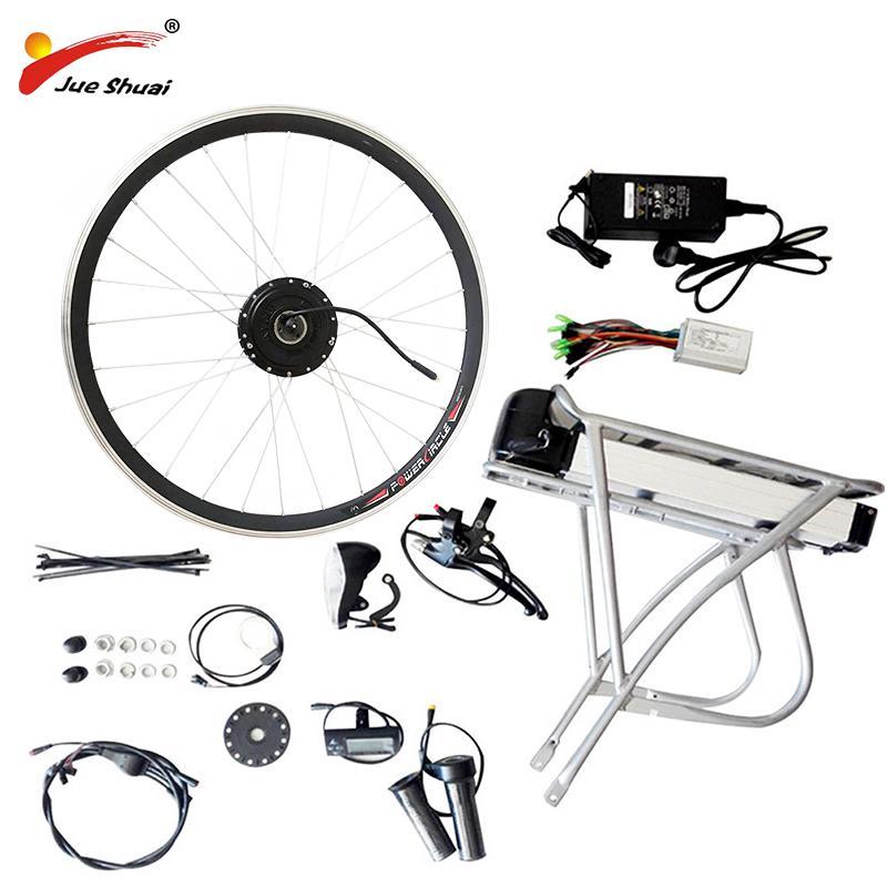 Easy DIY Электрический велосипед комплект с батареи Электрический велосипед Kit 20
