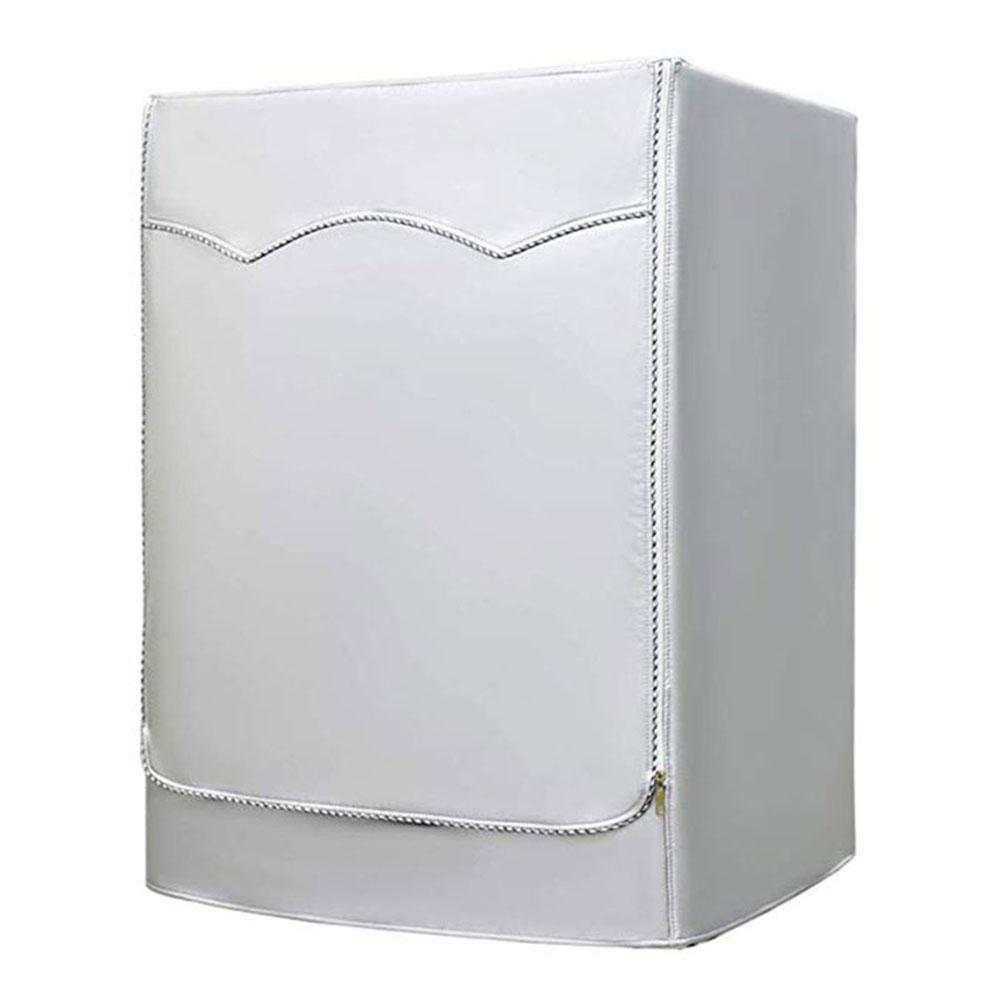 Coperchio lavatrice con Front aperture impermeabile polvere d'argento Proof Large Size VJ-Drop
