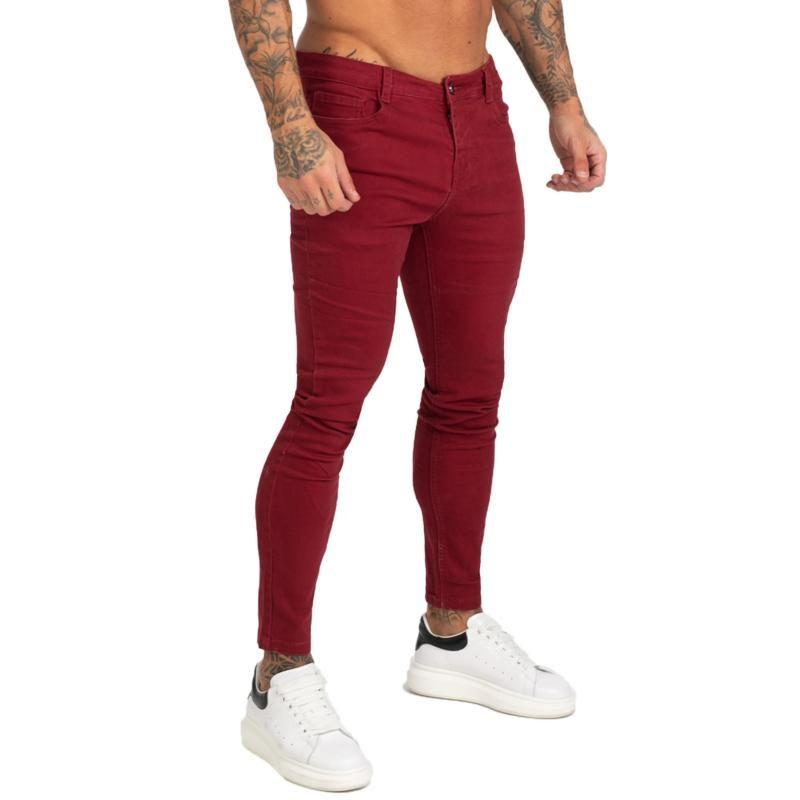 2021 Jeans Men Calca Jeans Masculina Super Skinny Fit Mens Elastic Waist Bestting For Athletic Body Hip Hop Zm173 From Starbrand 32 36 Dhgate Com