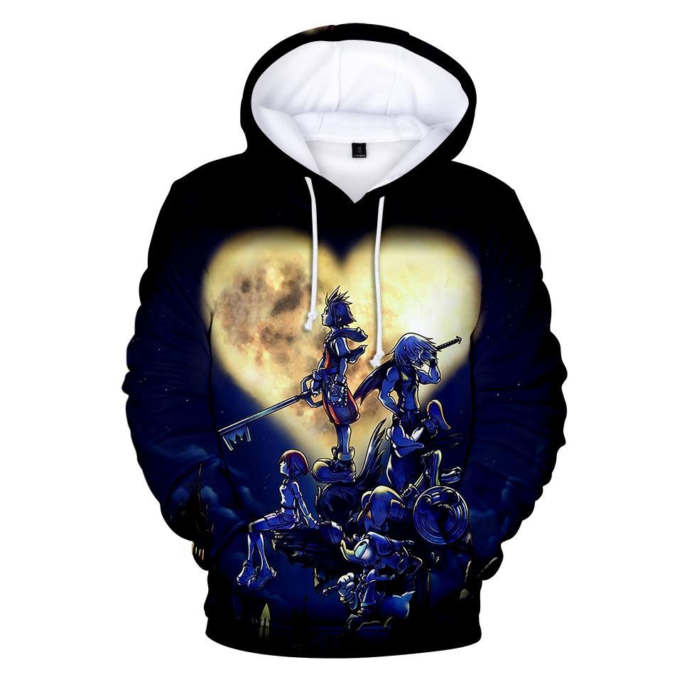 Frdun 3D Königreich Herzen Sweatshirt Hoodies Männer und Frauen Hip Hop Herbst Streetwear Hoodies Sweatshirt für Paare Kleidung