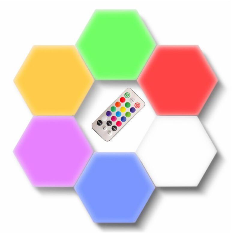 NEW الذكية LED الكم الخفيفة التي تعمل باللمس مصباح حدات 5V USB الإبداعية خلفية مصباح الجدار الديكور الصمام ليلة الخفيفة مع وحدة تحكم