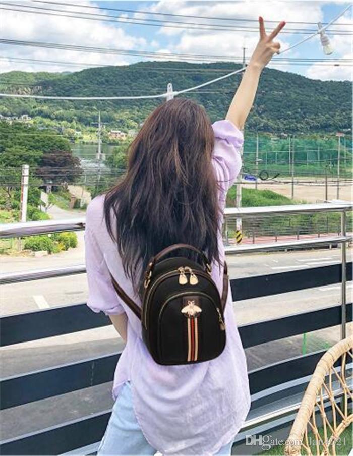 Borsa delle donne del progettista delle borse di marca di alta qualità di trasporto libero 6 borse del progettista di colore borse di lusso del progettista di colore zaini B3