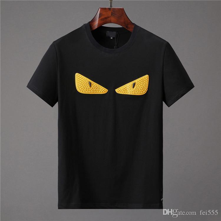2019 New Medusa Herren T-Shirt Sommer Kurzarm Brief gedruckt Baumwolle T-Shirt 3D Designer Bekleidung M-XXXL Männer T-Shirt