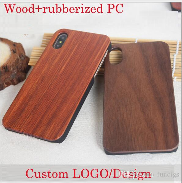 Rosewood Sapele wood Cherry wood Laser Engrave Wooden Mobile Cover Case for iPhone 6/6s/X/XR/XSMAX/7/8/7plus Sakuragi Carving Phone Case