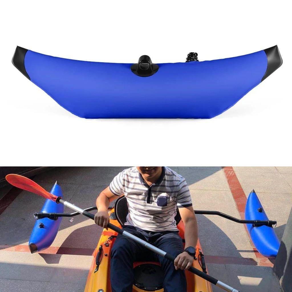 2 pezzi Kayak Canoa Standing galleggiante stabilizzatore stabilizzatore