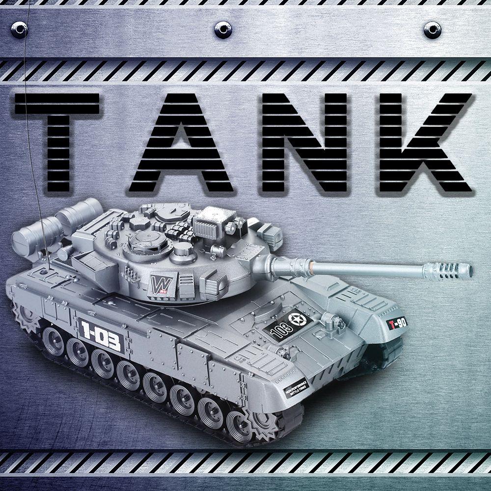 Танк войны по радио RC танк боевой зарядное устройство запуска кросс-кантри гусеничный дистанционного управления автомобилем хобби игрушки для детей дети подарок Y200317