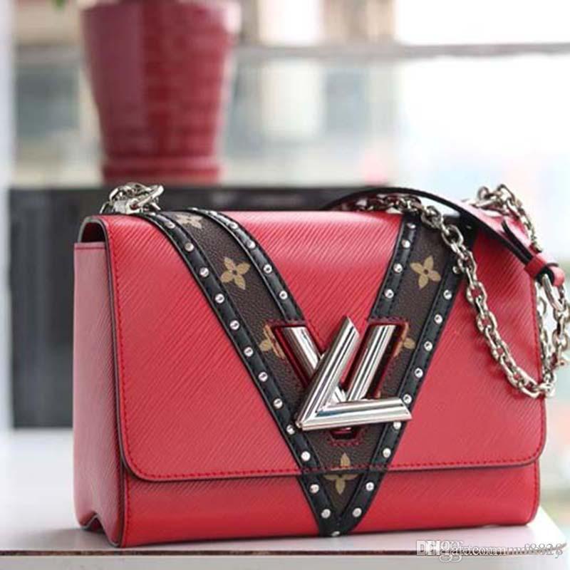 К 2020 году новые роскошные портфель дизайнер из натуральной кожи и холст роскошные мода дизайнер сумочку мода печати M50326
