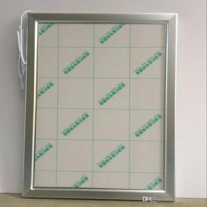 Les boîtes à lumière en aluminium de l'affiche LED d'agrafe A3, poches ouvertes de signes de signe ouvert d'Edgelit de LED ouvrent