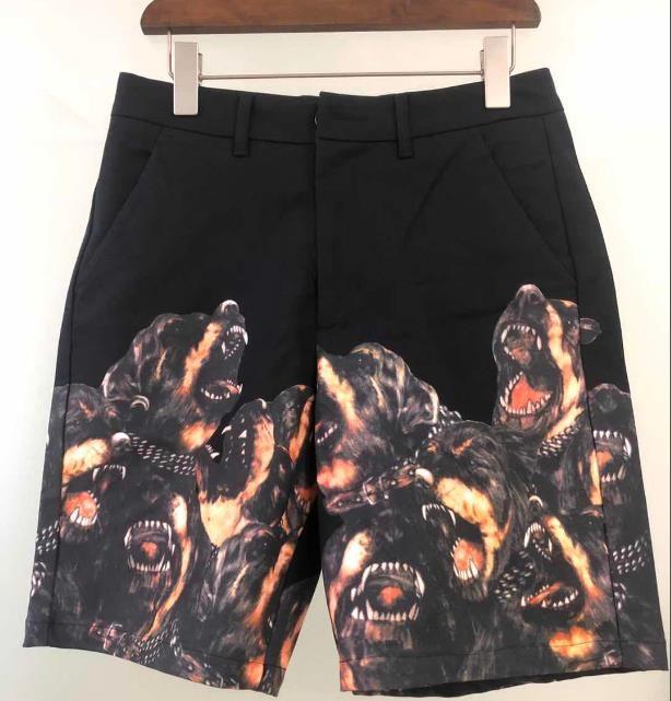 2020 Designer Hommes Shorts Summer Fashion Luxe Court Pantalons Shark Head Marque Jogger Pantalons Outdoor Shorts Plage Hot pantacourt 20042206D