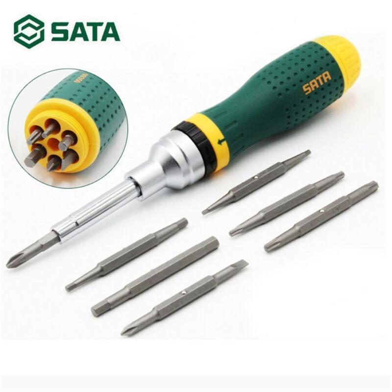 SATA Hand Tool 19-in-1 Multi-Tool Screwdriver Kits Home Repair Tool Set Hand Sets Household gadgets